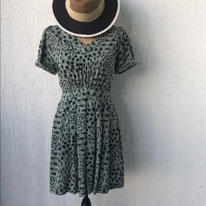 Vintage mini dress!!